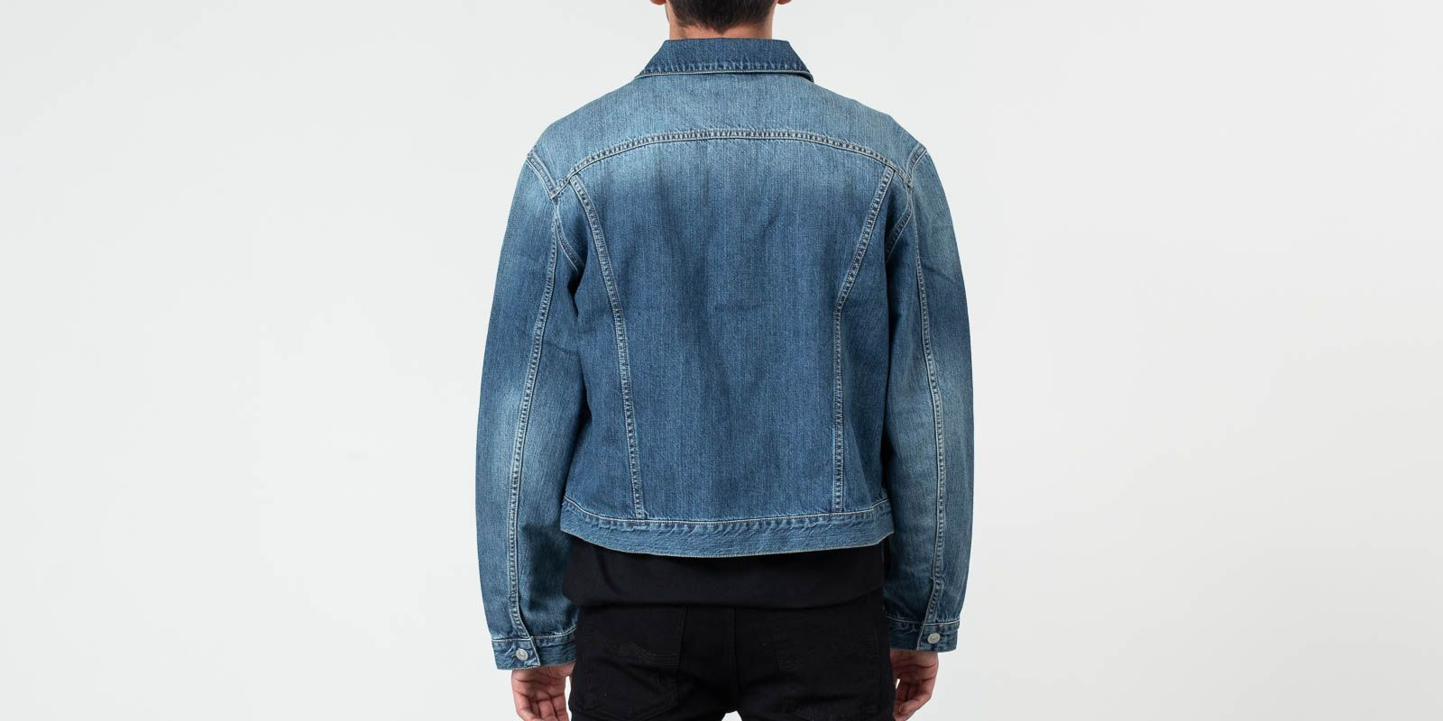 Our Legacy Gift From Mom Wash Mudride Jacket Denim Blue
