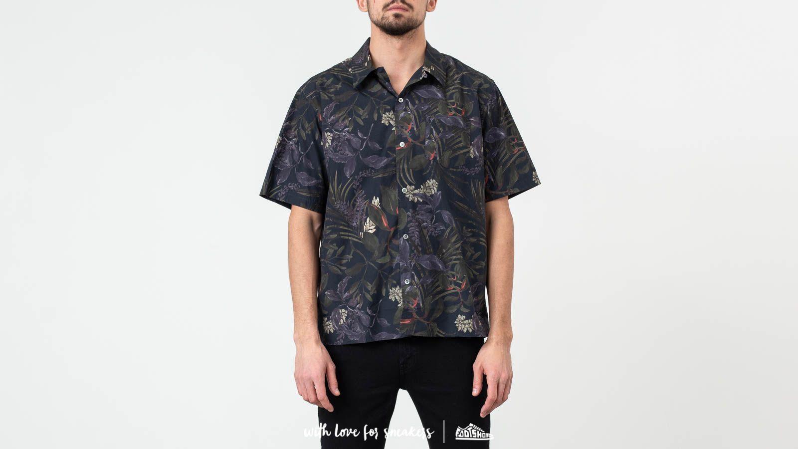 Shirts Norse Projects Carsten Print Shirt Dark Navy
