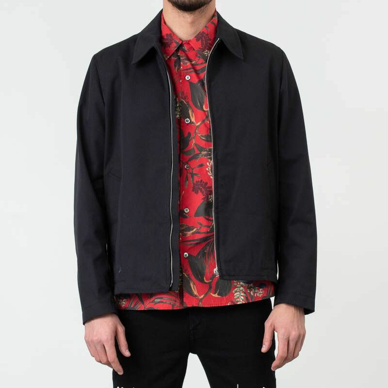 Norse Projects Elliot Compact Twill Jacket Dark Navy