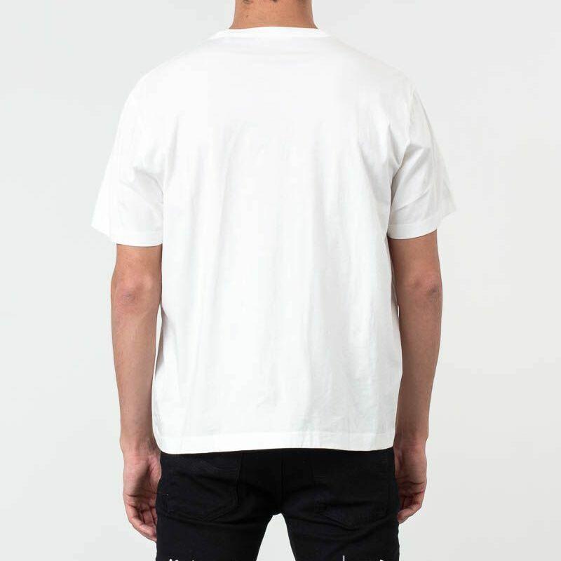 Our Legacy New Box Tee Logo Print White