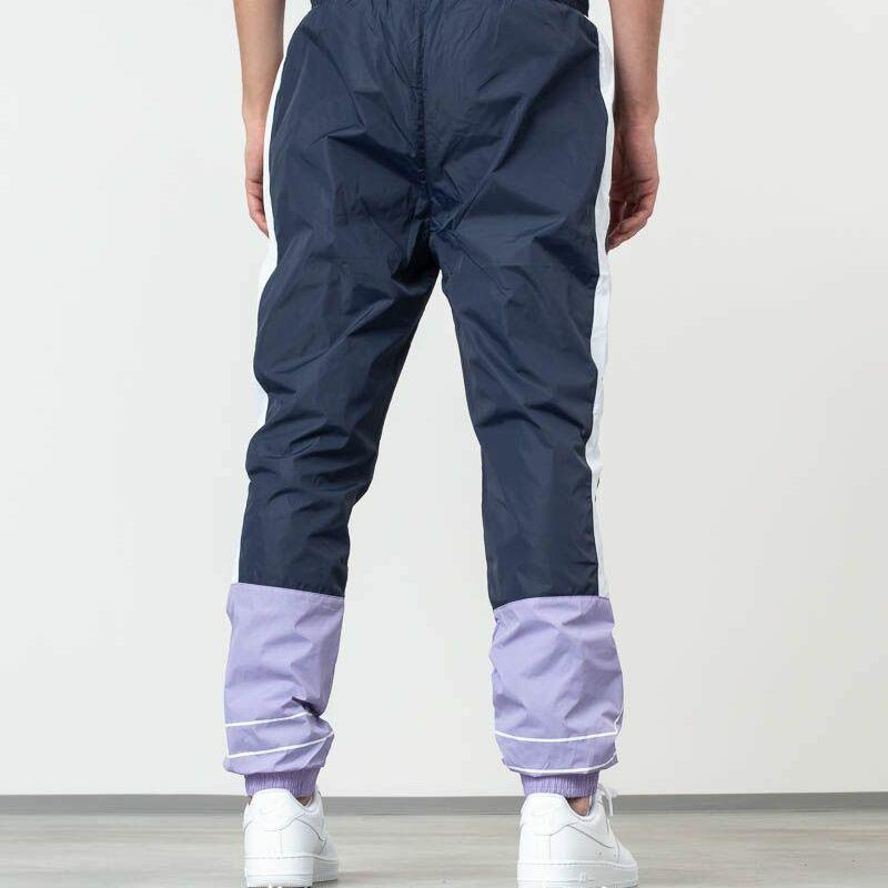 FILA Al Woven Track Pants Violet Tulip/ Black Iris/ Bright White, Blue