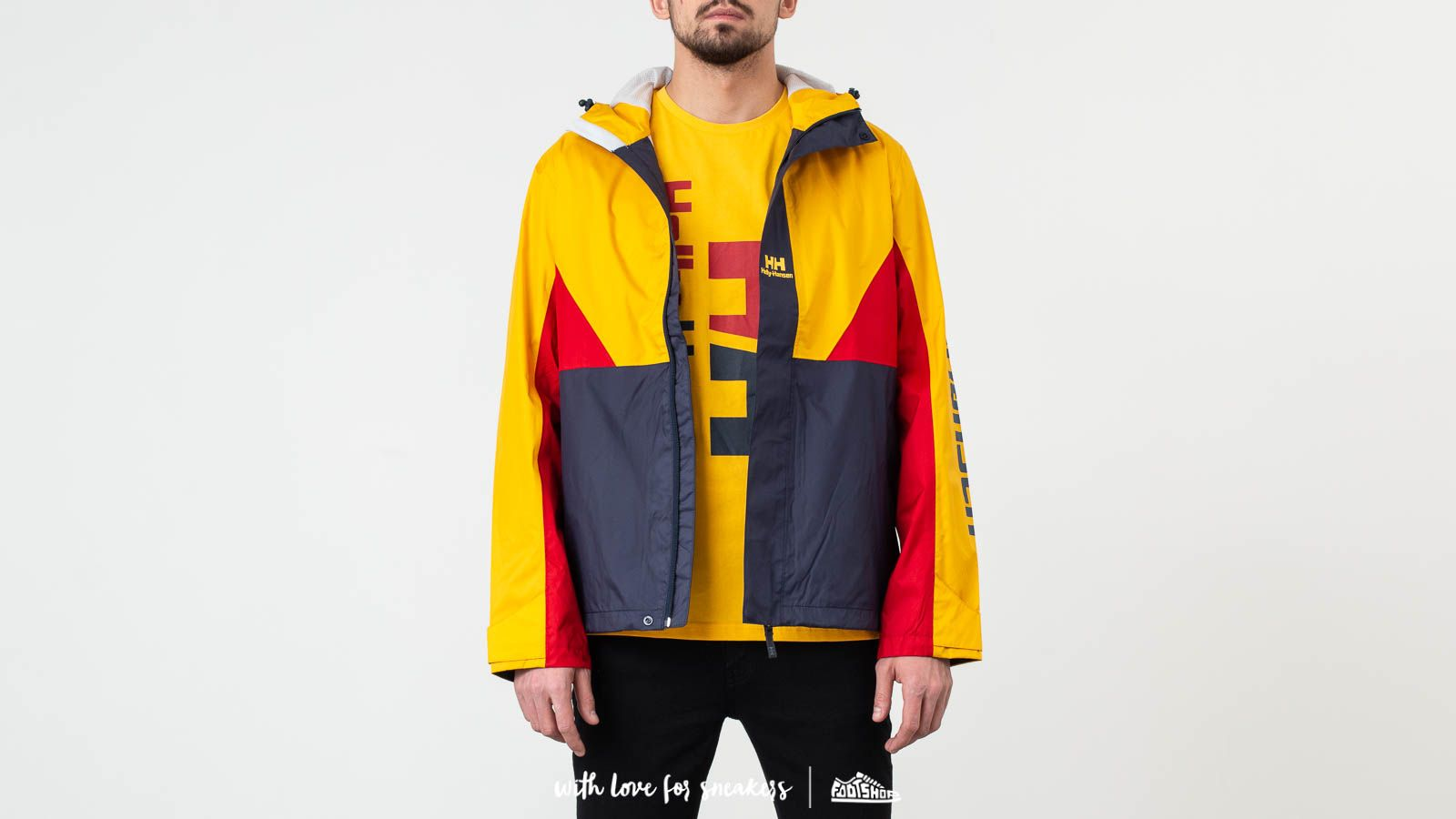 Helly Hansen Urban Windbreaker Jacket Essential Yellow za skvelú cenu 180 € kúpite na Footshop.sk