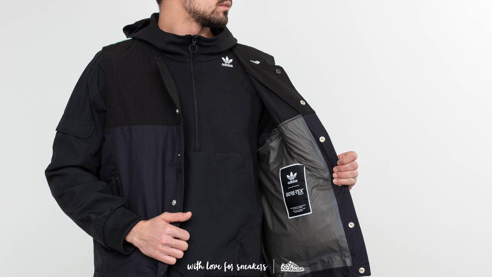 adidas Consortium x Footshop ACMON Gore Tex Jacket Black | Footshop