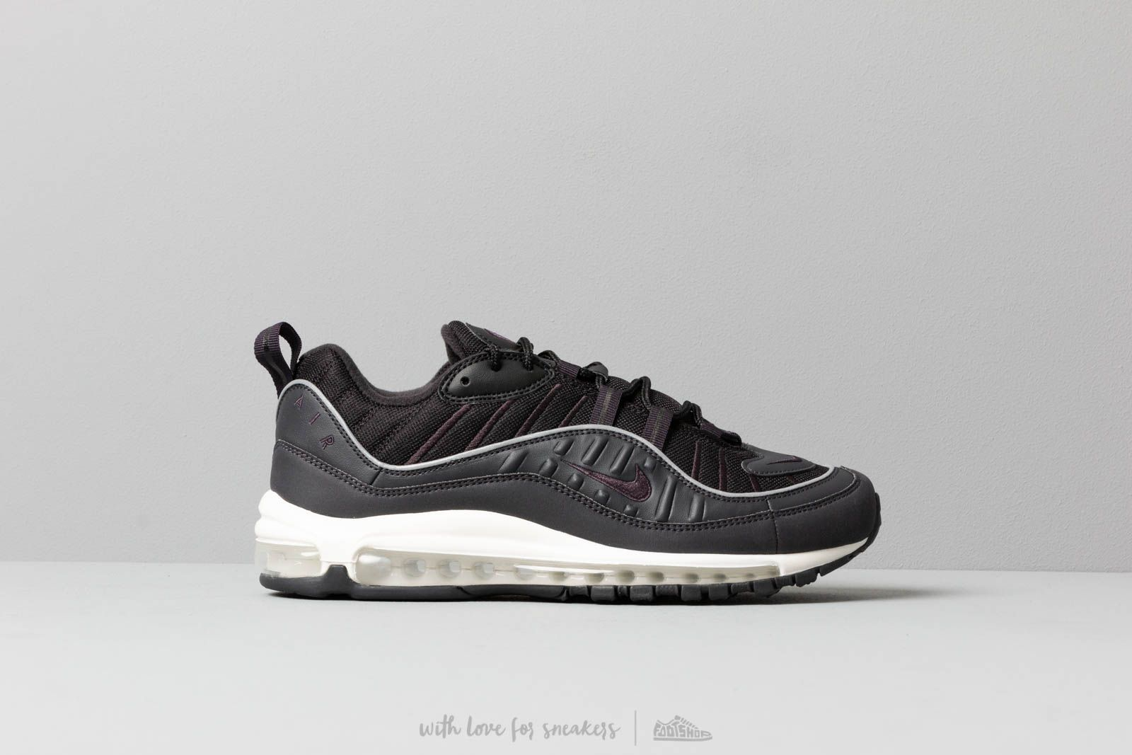 Men S Shoes Nike Air Max 98 Oil Grey Oil Grey Black Summit White