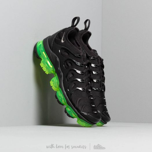 detailed look 4806c bffec Nike Air Vapormax Plus Black/ Reflect Silver-Volt | Footshop