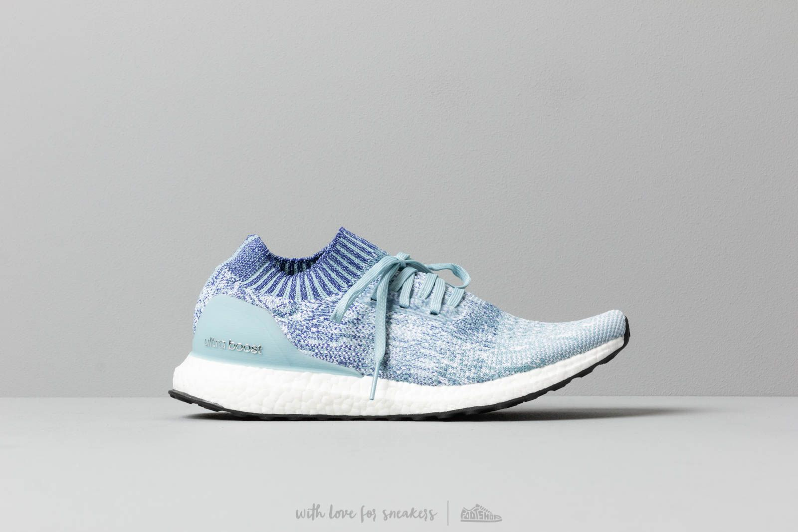 42cf9c8fece03 adidas UltraBOOST Uncaged Ash Grey  Active Blue  Shock Red at a great price  £