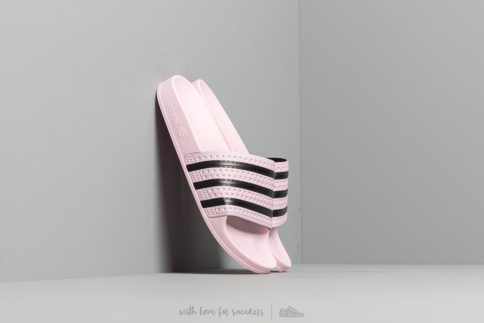 pretty nice ae83b f7364 adidas Adilette W Clear Pink Clear Pink Core Black W super cenie 168 zł
