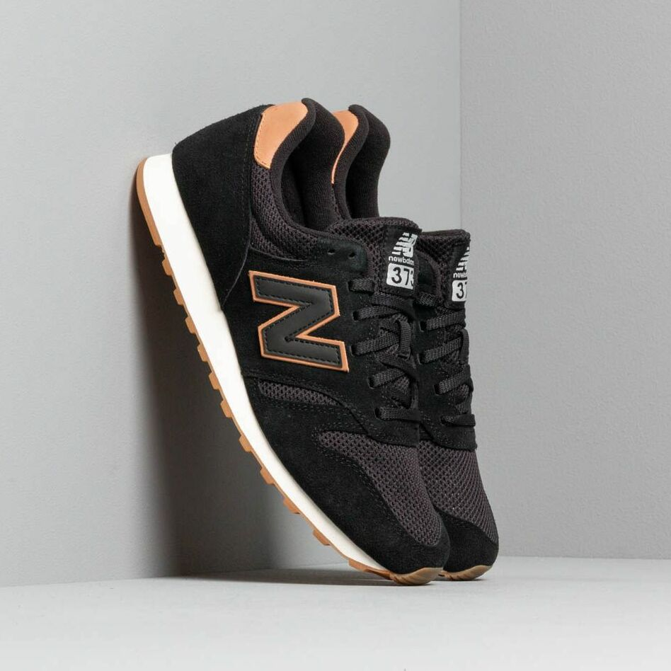 New Balance 373 Black/ White/ Brown EUR 45