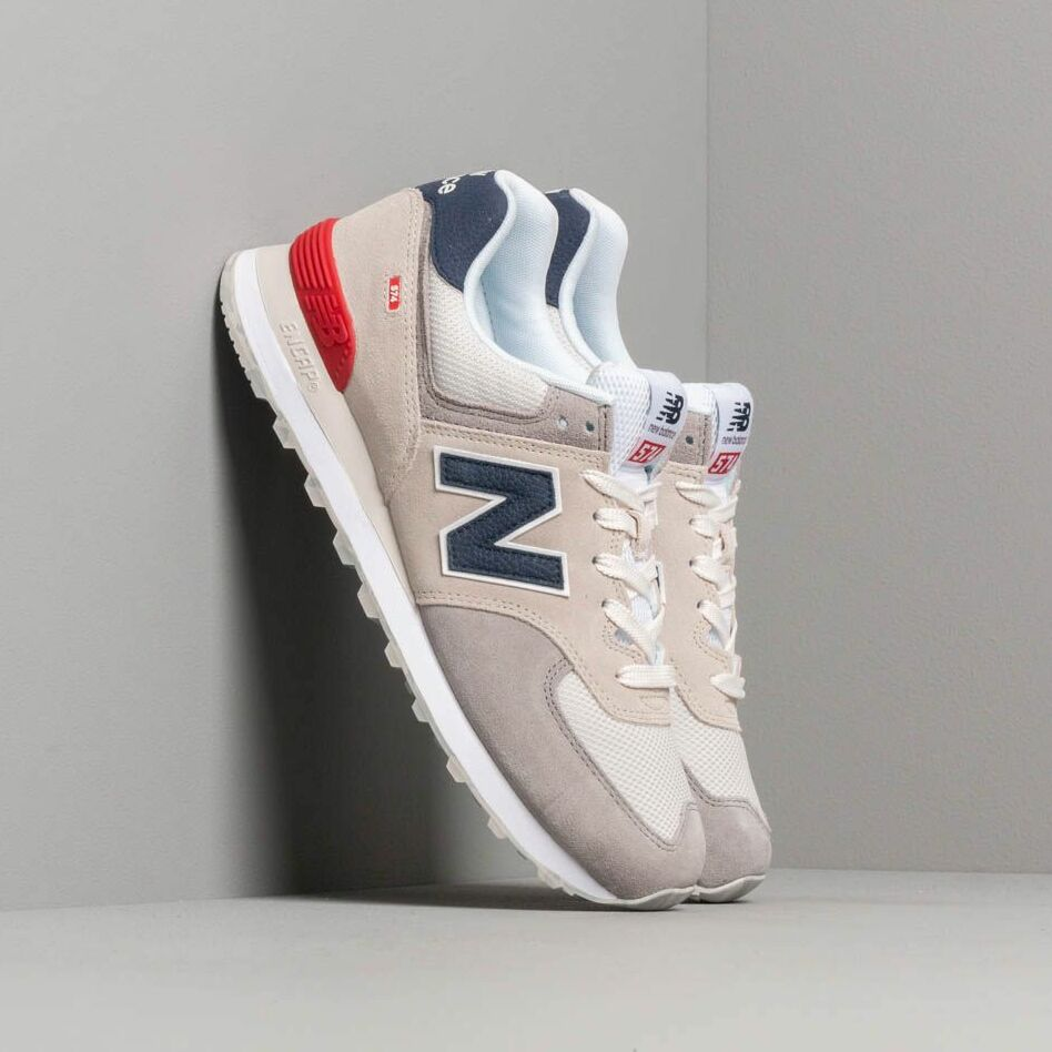 New Balance 574 Grey/ Blue/ Red EUR 44.5
