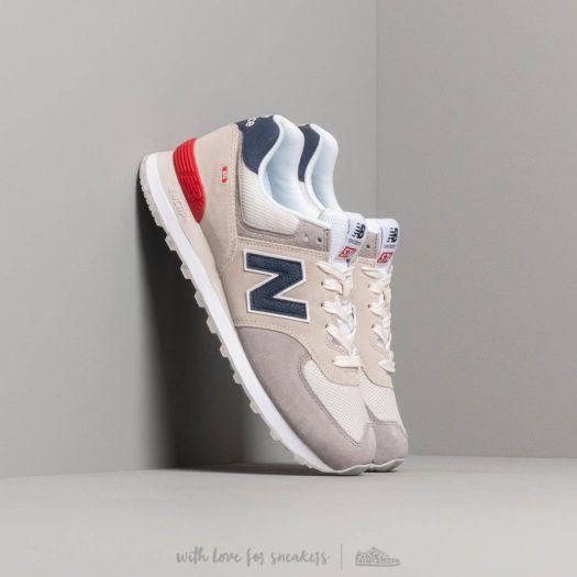 New Balance 574Grey/ Blue/ Red