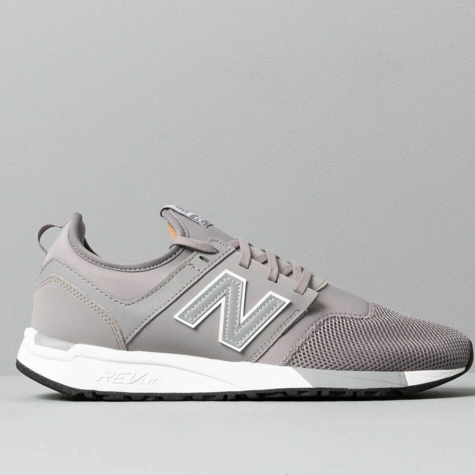 New Balance 247 Grey/ White, Gray