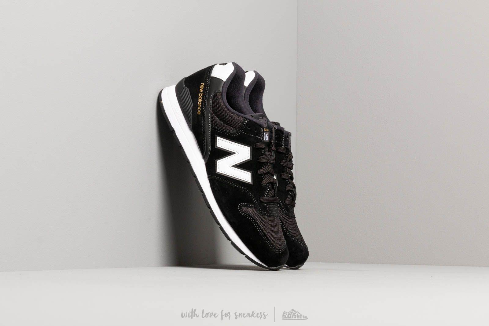 c77ad35cee7 New Balance 996 Black  White a muy buen precio 103 € comprar en Footshop