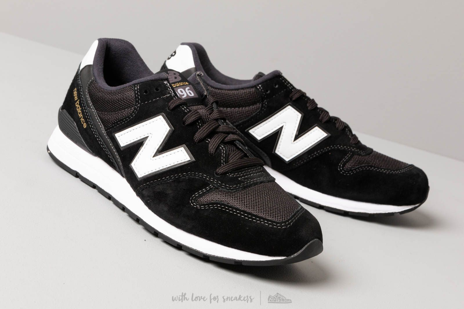 Royaume-Uni disponibilité 77051 ee97d New Balance 996 Black/ White | Footshop
