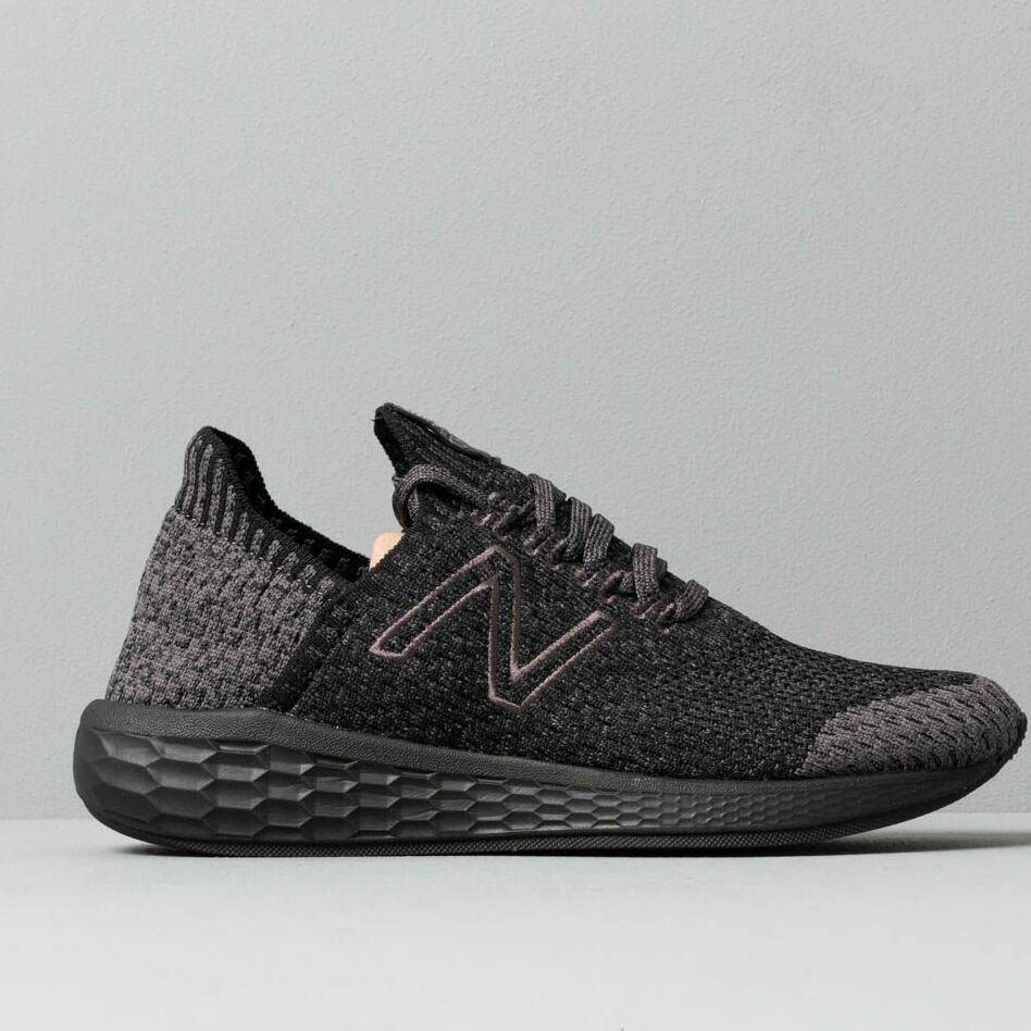 New Balance Cruz Black/ Grey