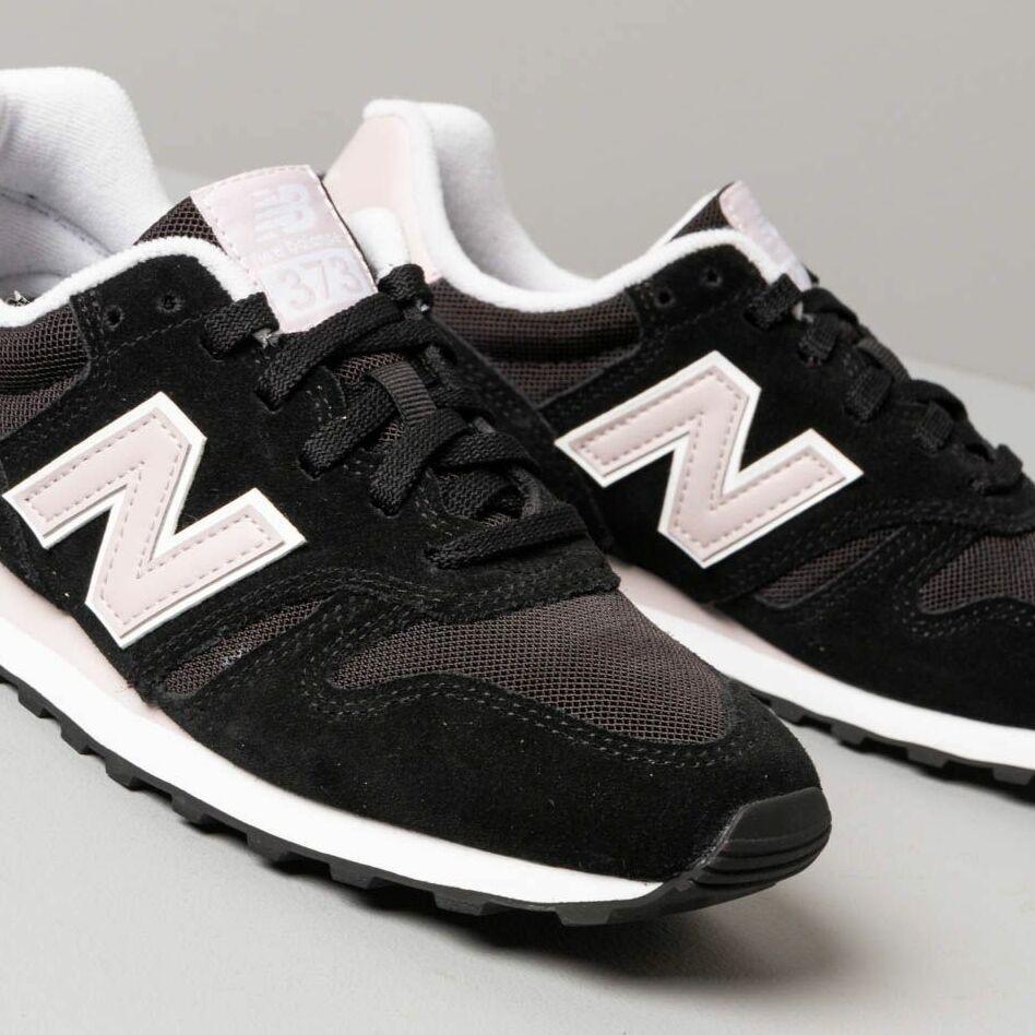 New Balance 373 Black/ Pink