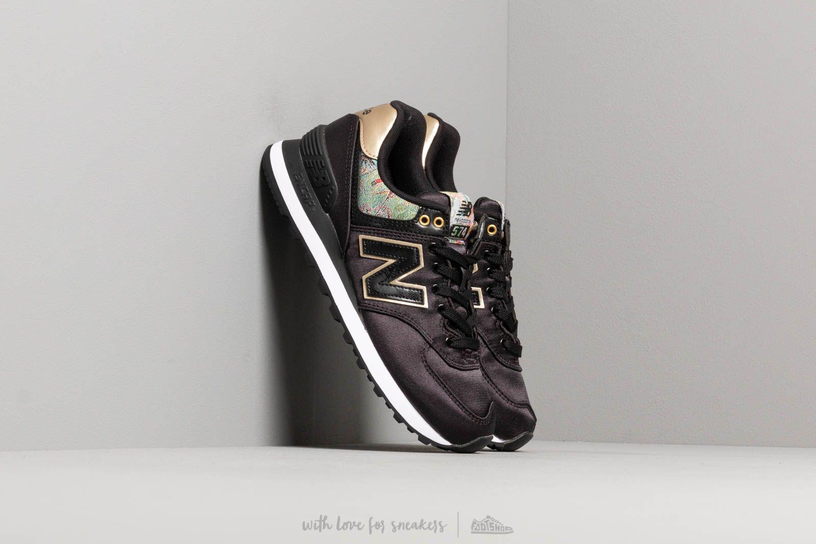 New Balance 574 Black/ Gold za skvělou cenu 2 390 Kč koupíte na Footshop.cz