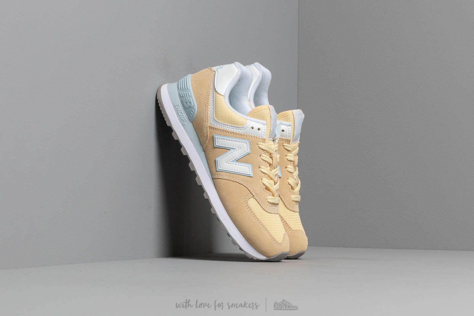 New Balance 574 Yellow/ White za skvělou cenu 2 390 Kč koupíte na Footshop.cz