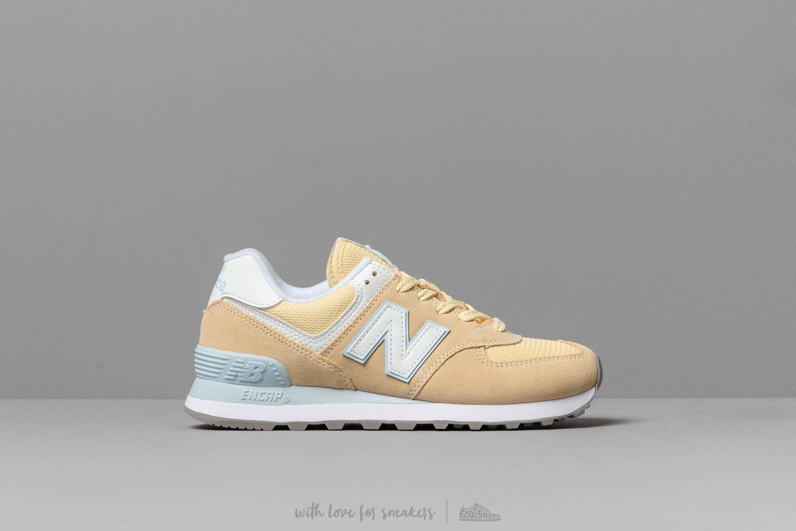 big sale 93d0d f4cbf New Balance 574 Yellow/ White | Footshop