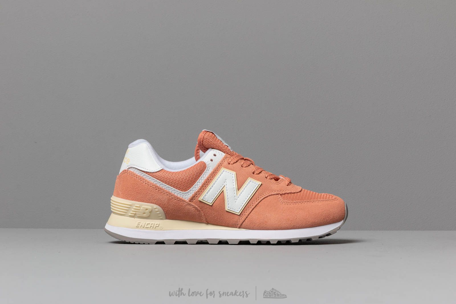 6558006ca6f New Balance 574 Orange  White at a great price £76 buy at Footshop
