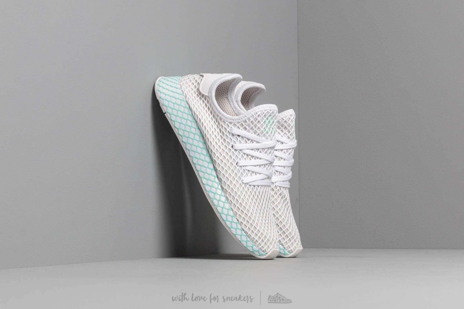adidas Deerupt Runner W Ftw White/ Grey One/ Clear Mint at a great price 187 лв купете в Footshop