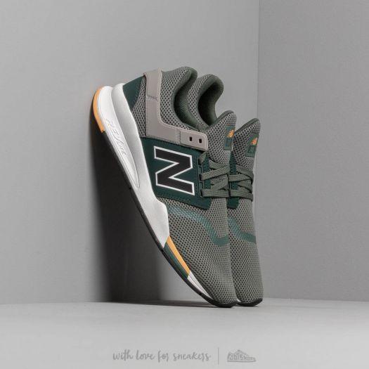 Men's shoes New Balance 247 Green/ White