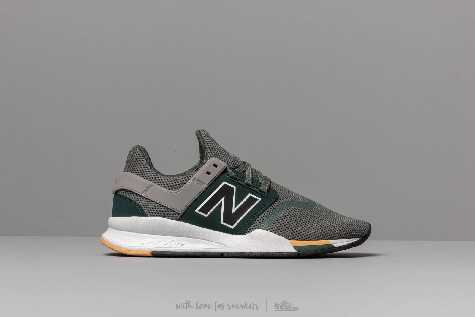 c7526737faa New Balance 247 Green/ White at a great price £80 buy at Footshop
