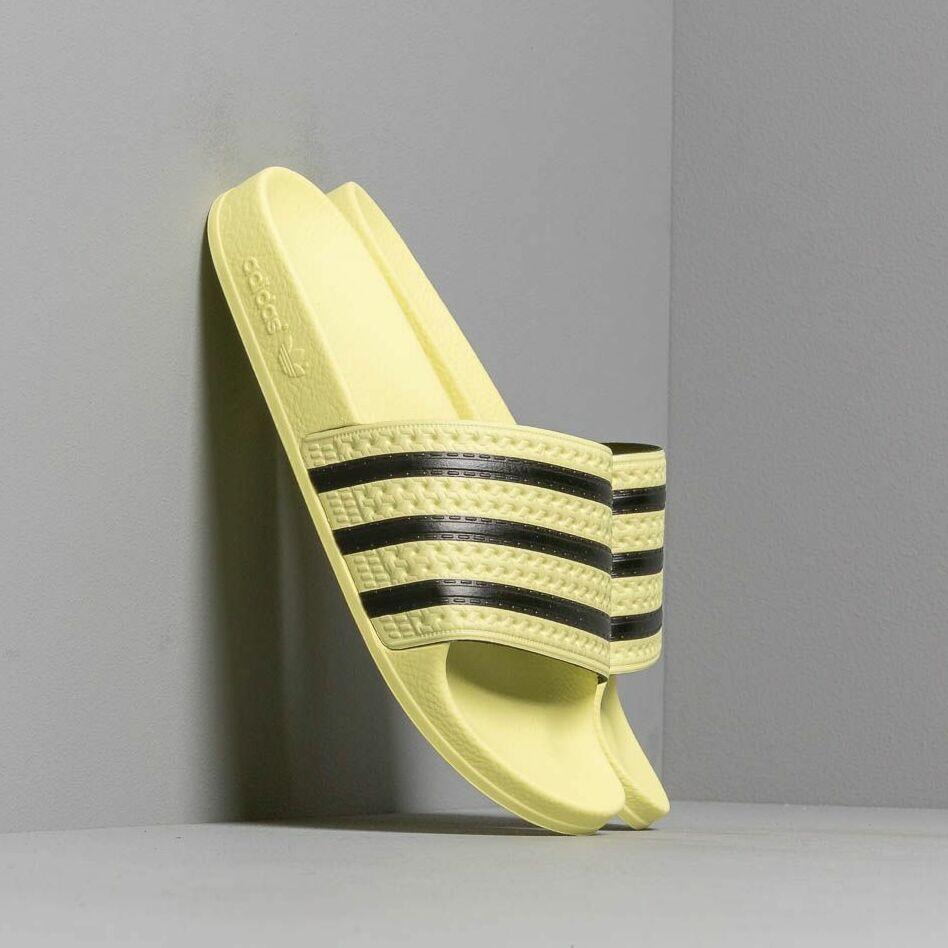 adidas Adilette W Ice Yellow/ Ice Yellow/ Core Black EUR 35.5