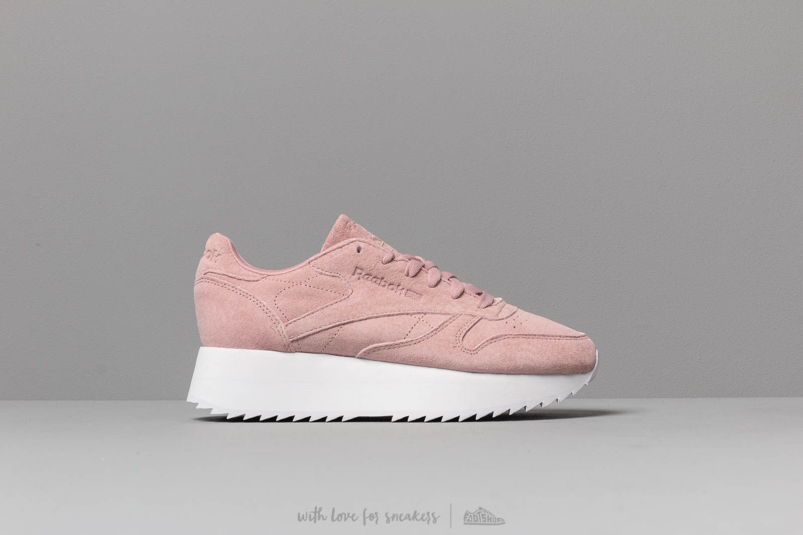 c01a01ae02f191 Reebok Classic Leather Double Smoky Rose  White at a great price 106 € buy  at