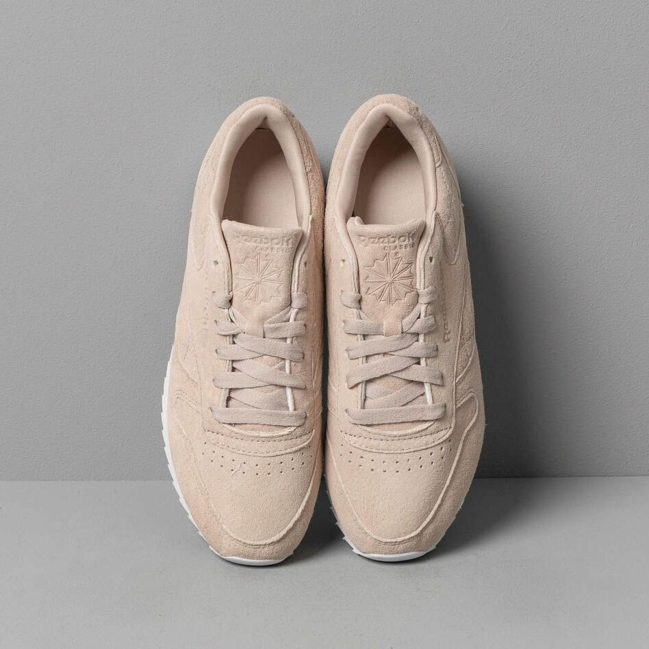 Reebok Classic Leather Double Light Sand/ White, Brown