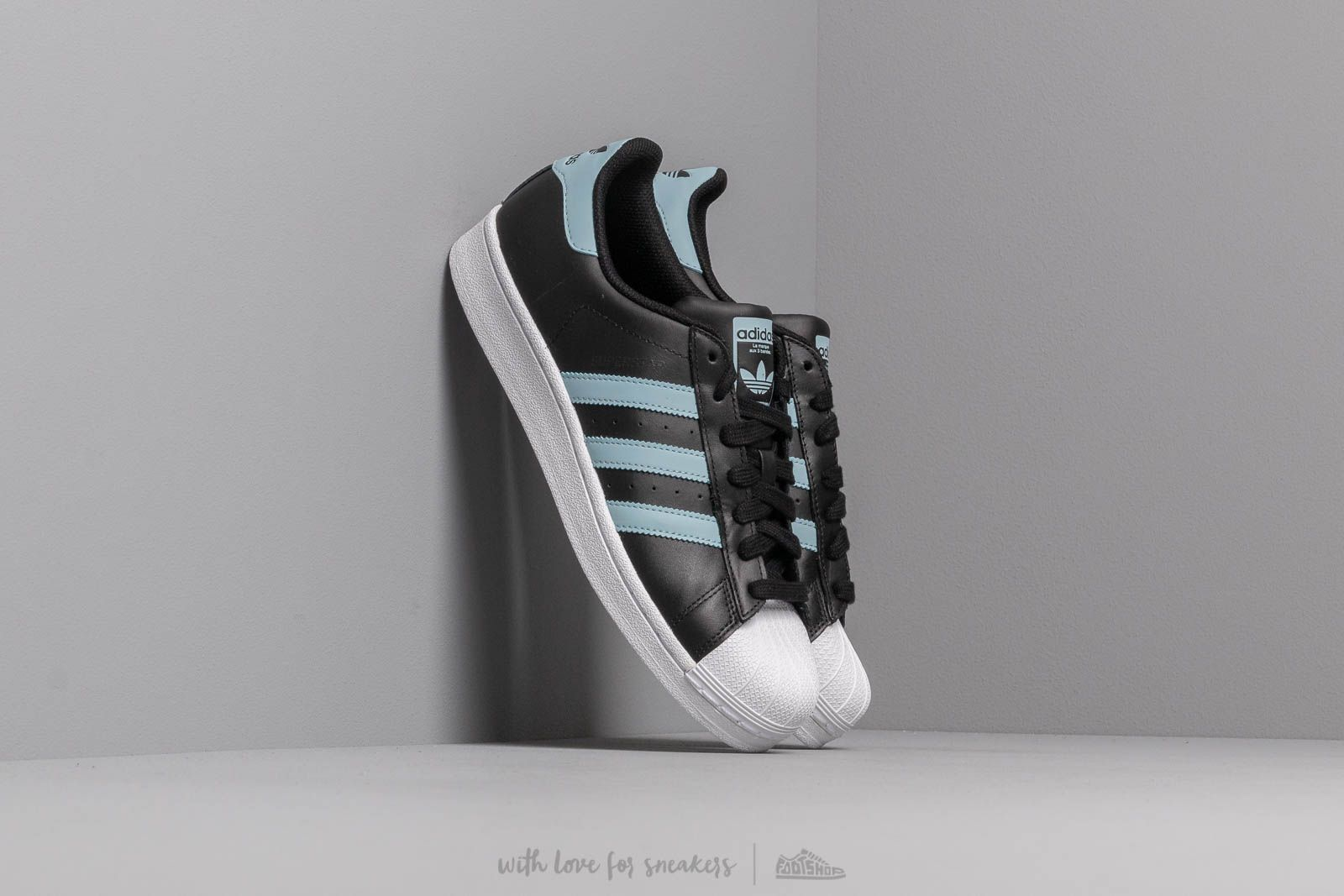 6eaca4e3850a adidas Superstar Core Black  Ash Grey  Footwear White at a great price 92 €