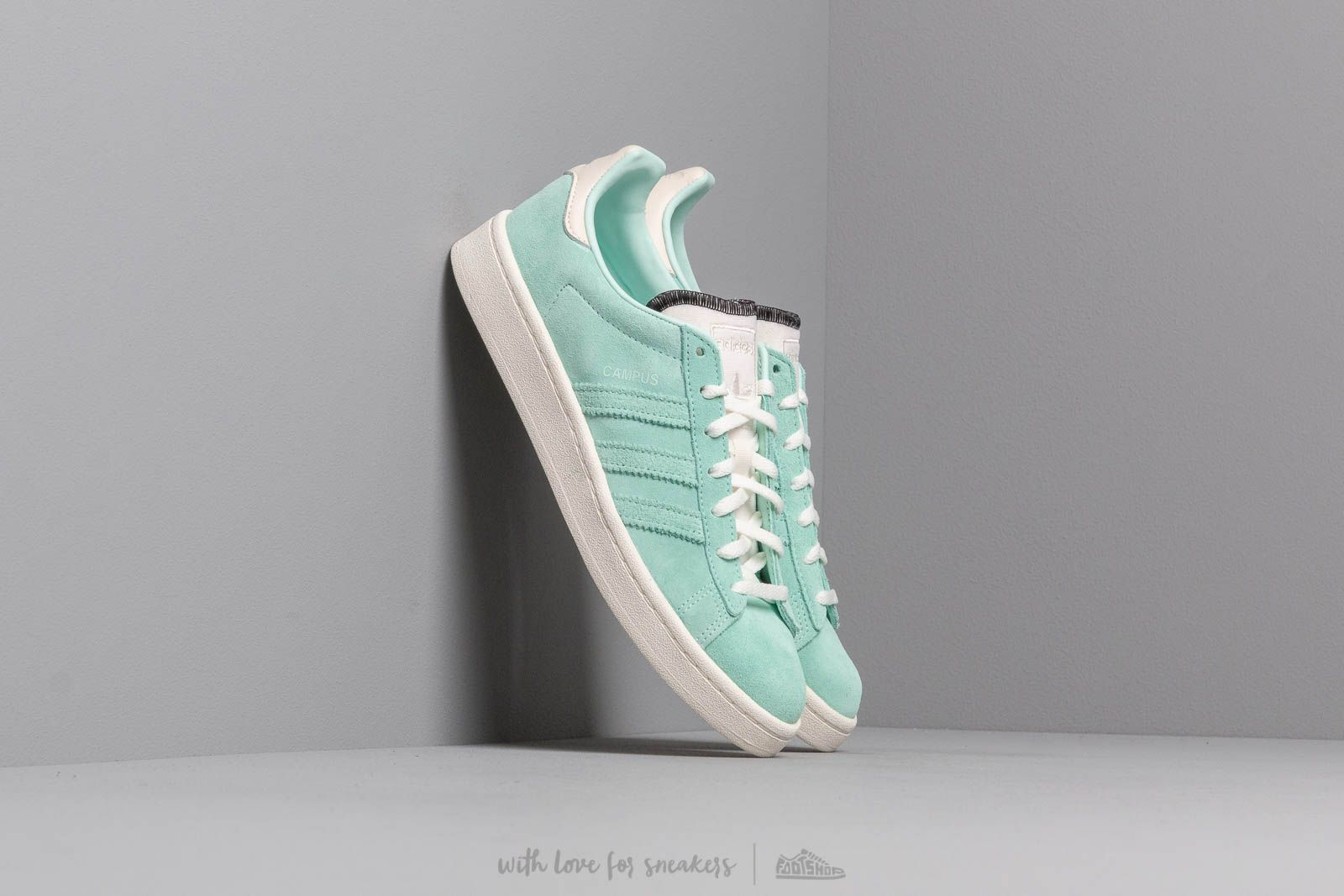 Zapatillas mujer adidas Campus W Clear Mint/ Off White/ Clear Mint
