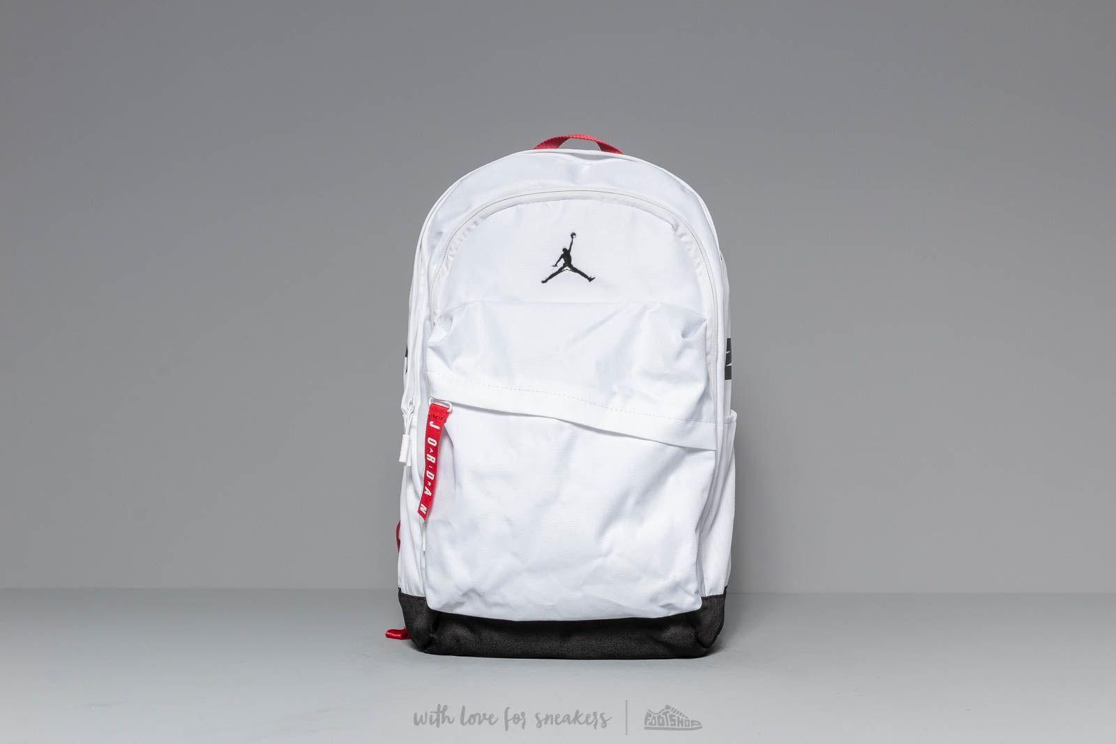 f8d8d7d554c Jordan Air Patrol Backpack White | Footshop