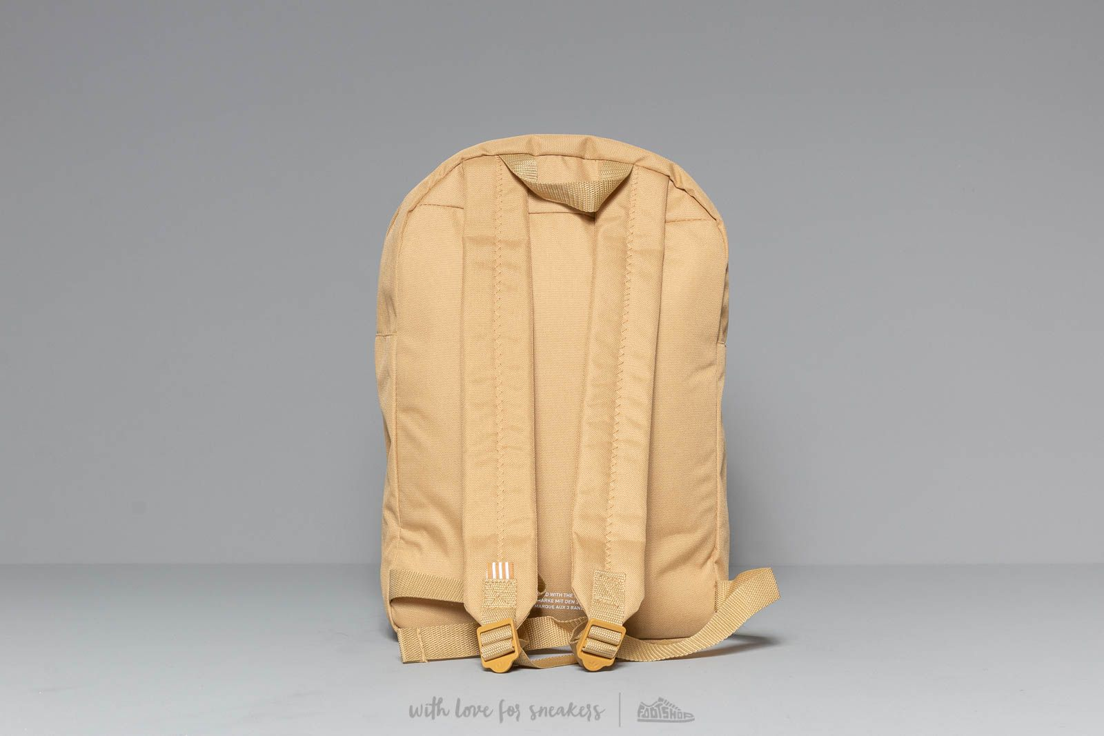 6eab287d1 adidas Classic Trefoil Backpack Raw Sand at a great price 28 € buy at  Footshop