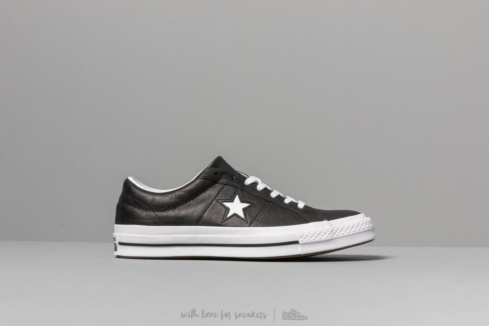 a2aa5469ffec Converse One Star Black nagyszerű árakon 31 362 Ft vásárolj a Footshopban