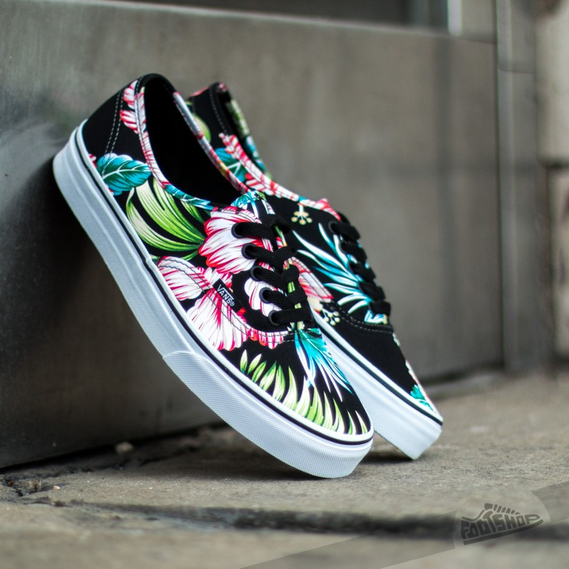 6400748d407a02 Vans Authentic Hawaiian Floral Black