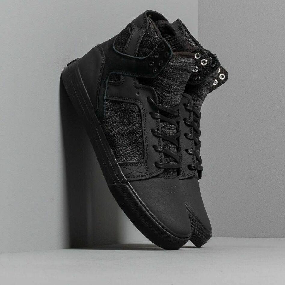 Supra Skytop Black/ Dark Grey-Black EUR 41