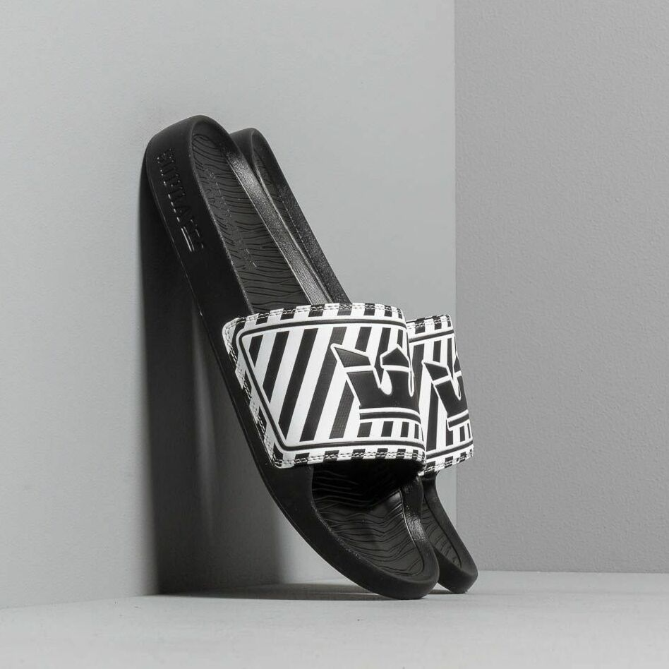 Supra Lockup Black/ White Stripe EUR 44