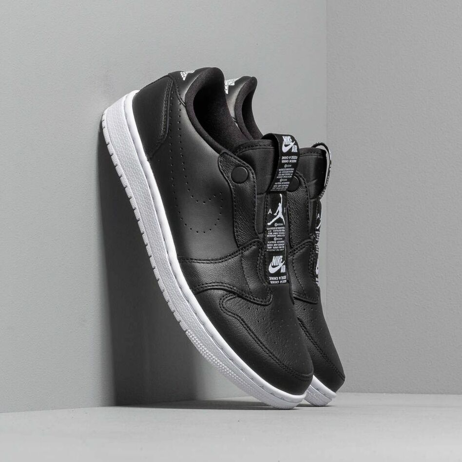 Air Jordan Wmns 1 Ret Low Slip Black/ White