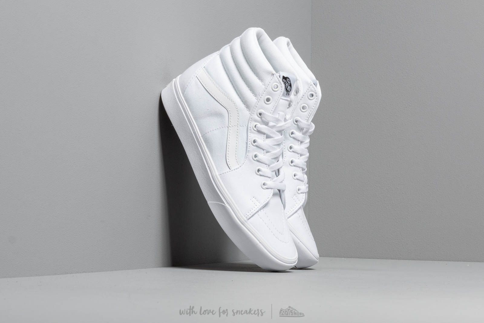 Vans ComfyCush SK8 Hi (Classic) True White True | Footshop