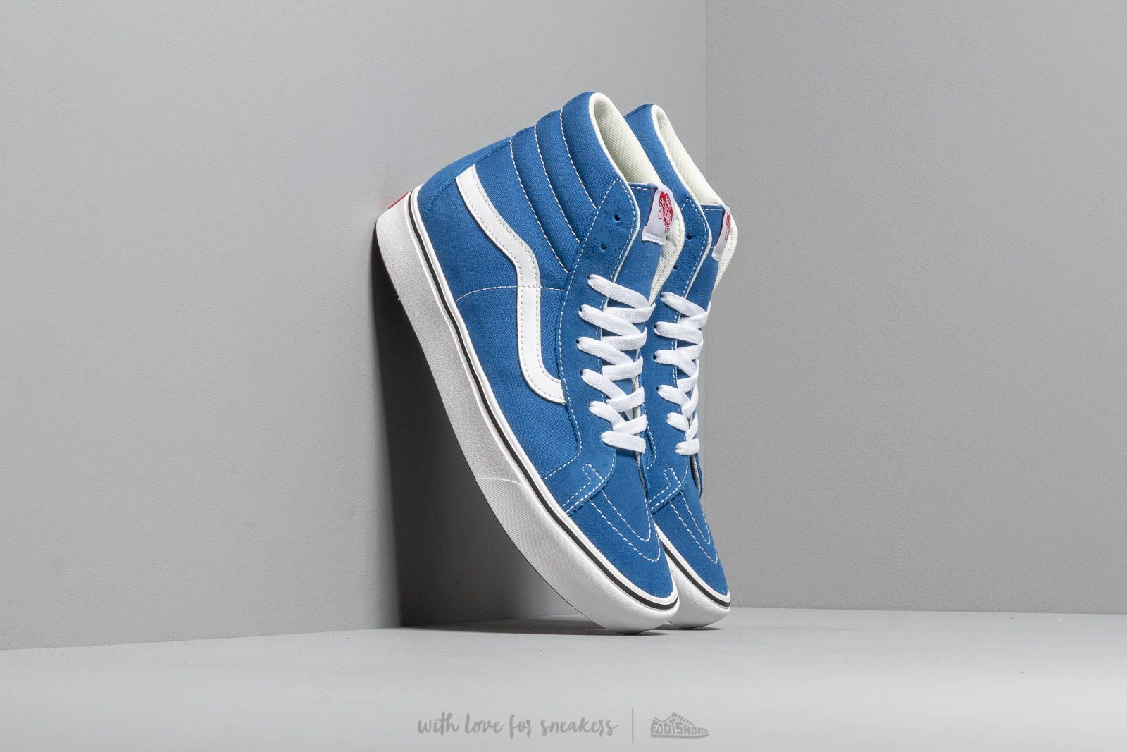 02779207786 Vans ComfyCush SK8-Hi Reissue (Suede  Canvas) Lapis Blue at a great