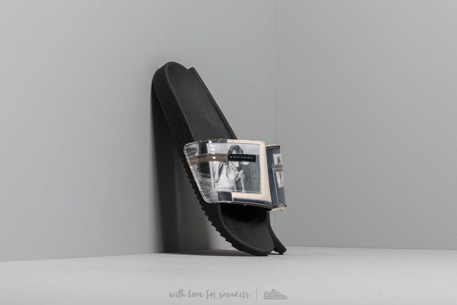 Rick Owens Patch Slides Natural/ Black za skvělou cenu 4 690 Kč koupíte na Footshop.cz