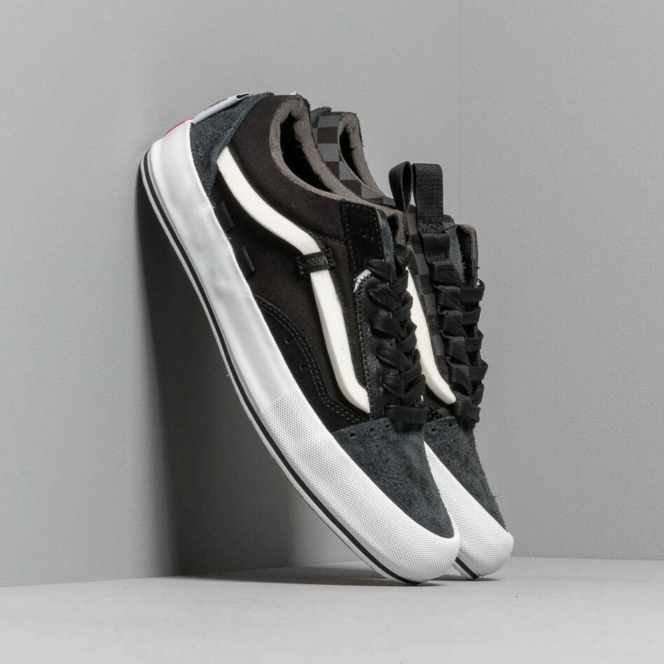 Vans Old Skool Cap LX (Regrind) Black/ True White