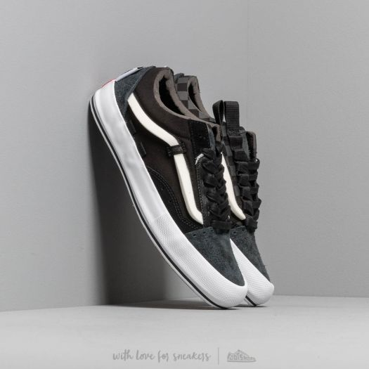 Vans Old Skool Cap LX (Regrind) Black True White | Footshop