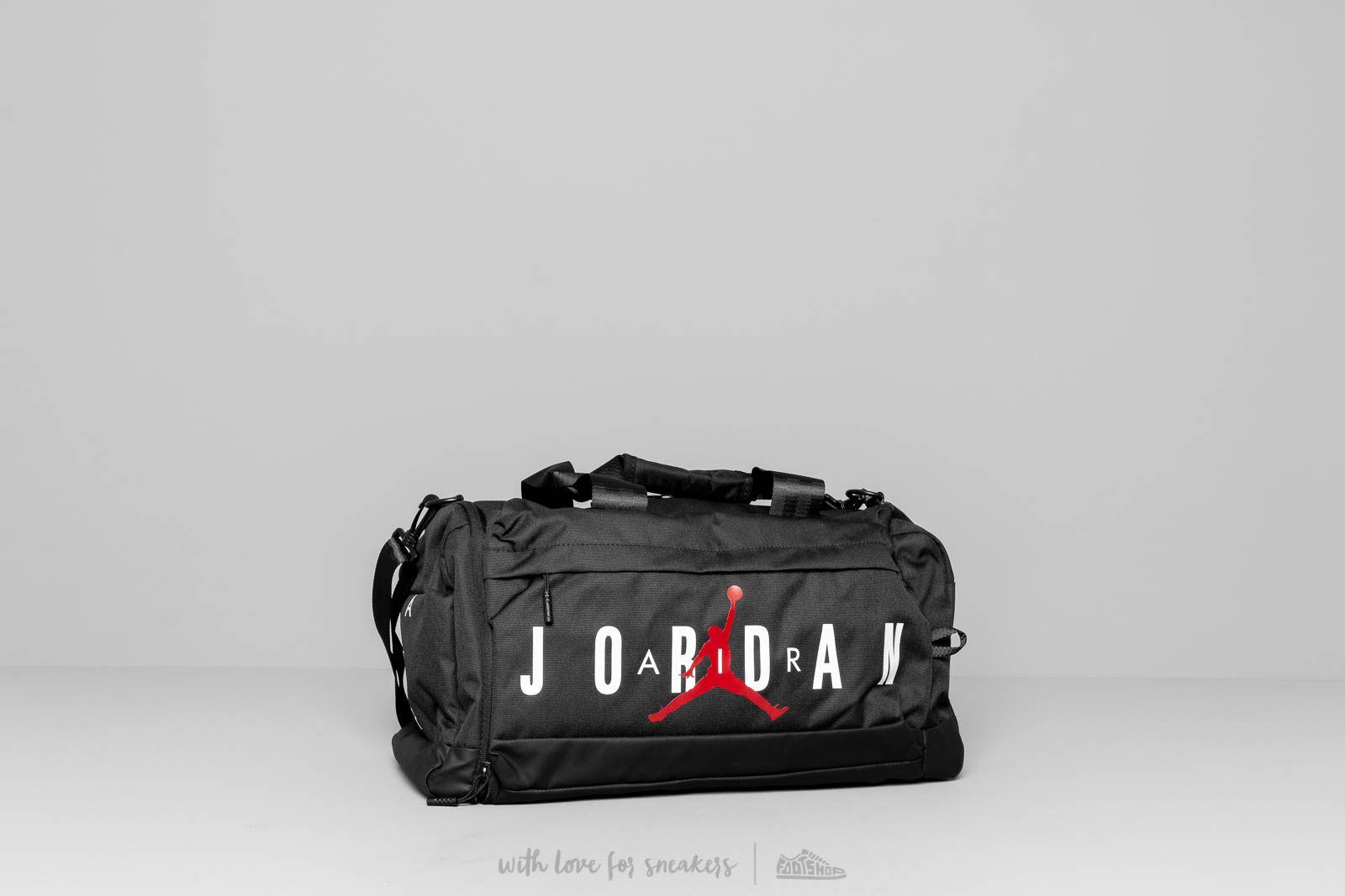 1f13eccc2db Jordan Jumpman Air DuffleBag Black | Footshop