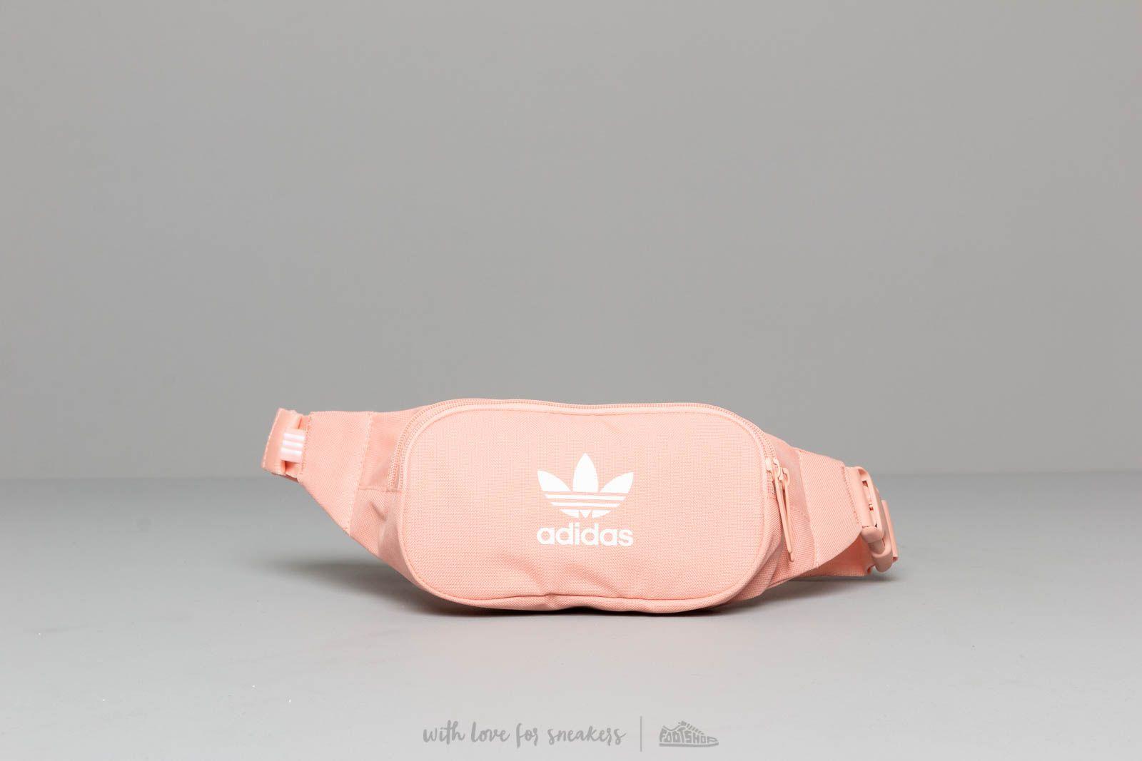 adidas Essential Crossbody Waistbag Dust Pink   Footshop