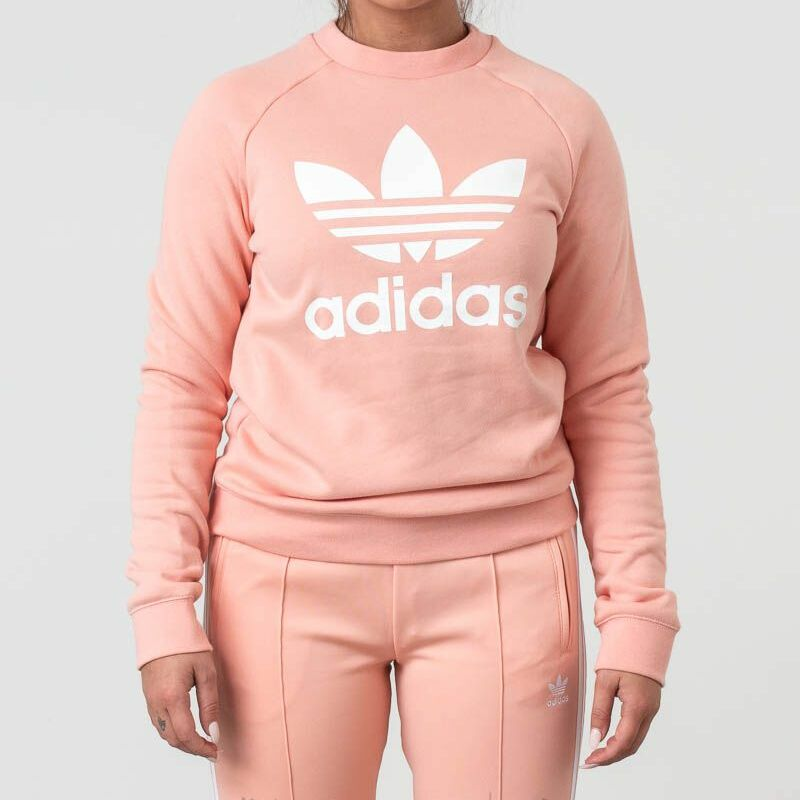 adidas Trefoil Crewneck Dust Pink