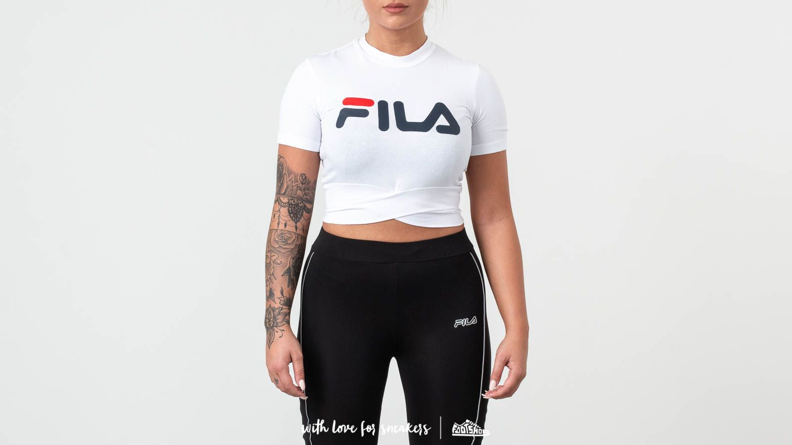 Fila Roxy Belted Turtle Neck Top Bright White at a great price 44 € buy at Footshop
