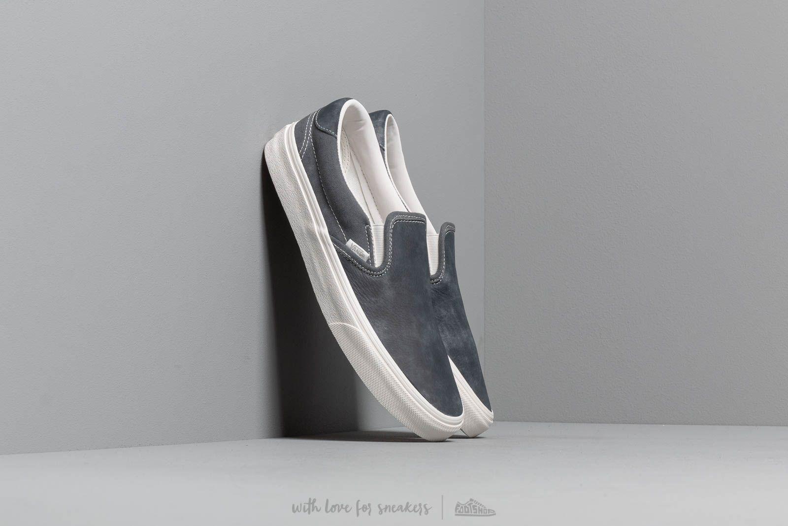 Pánské street boty Vans Slip-On 59 (Washed Nubuck/ Canvas) Eb