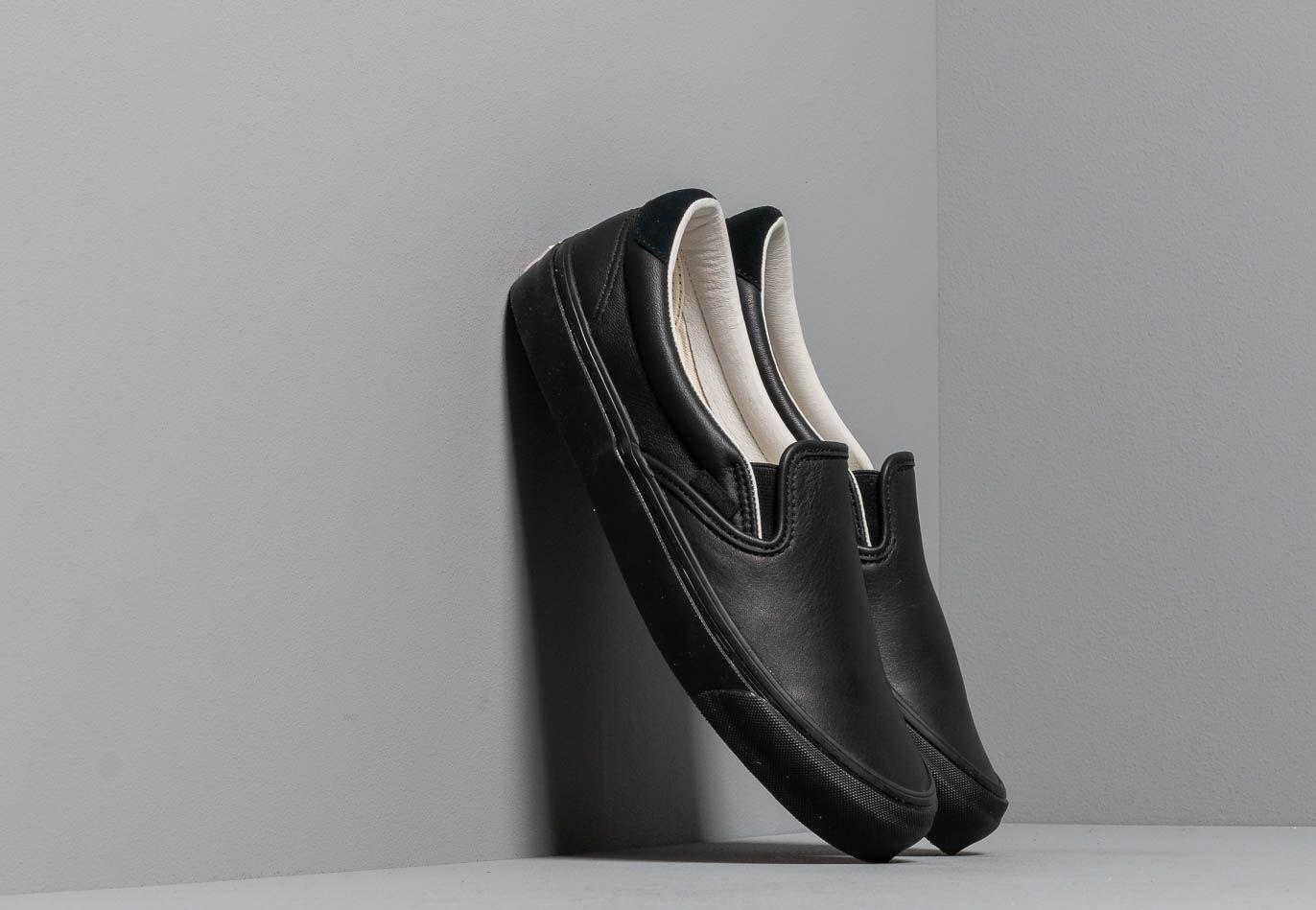 Vans OG Slip-On 59 LX (Leather/ Suede) Black EUR 47