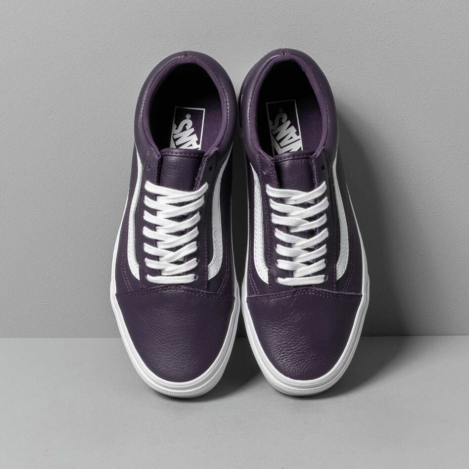 Vans Old Skool (Leather) Mysterioso/ True, Purple